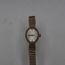 Vintage Bulova 10k RGP Mechanical Wind Ladies Wristwatch Watch - $39.41