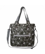 TRAVELON Packable Crossbody Tote Bag, Retro Mums Print, compact, water r... - $26.00