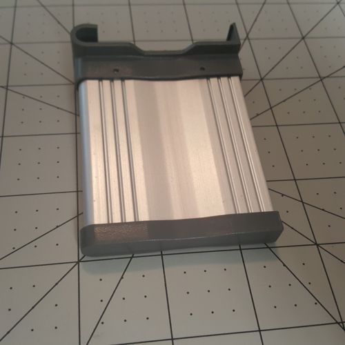 "IKEA Rationell Drawer Divider Replacement Part 3"" Aluminum Piece Plastic Insert"