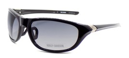 Harley Davidson HDX862 BLK Wraparound Sunglasses Black 67-19-135 Smoke G... - $42.31