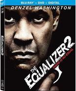 The Equalizer 2 [Blu-ray + DVD + Digital] (2018) - $13.95