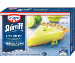 Dr Oetker Shirriff Key Lime Pie Filling and Dessert Mix 4 boxes Canadian - $49.99
