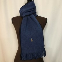 NEW POLO RALPH LAUREN Mens Polo Scarf w/Pony, Shale Blue, $65 - £39.75 GBP