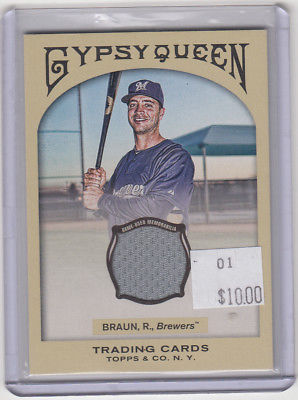 2010 Topps Gypsy Queen GQR-RB Ryan Braun Not Graded
