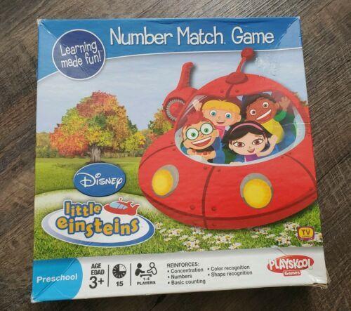 Disney Little Einsteins Number Match Game Playskool Hasbro 2008 Educational - $14.01