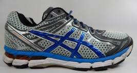 Asics GT 2000 v 2 Size US 12.5 M (D) EU 47 Men's Running Shoes Silver T3P3N