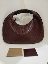 100% Authentic Bottega Veneta Small Veneta Bag in Maroon Leather.  EUC! - $769.09