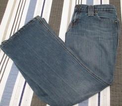 Gap Jeans Original Ultra Low Rise Size 4 Cotton Blend Stretch Medium Wash EUC - $14.01