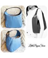 MICHAEL KORS FULTON LARGE HOBO SHOULDER BAG IN LEATHER FRENCH BLUE - $117.69