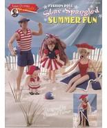 Star Spangled Summer Fun Crochet Swimsuits Dress Shorts Tank Tops Wrap H... - $12.82
