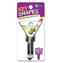 Lucky Line Key Shapes, Martini, House Key Blank, SC1, 1 Key B133S image 2
