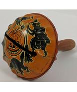 Vintage Kirchhof Life Of The Party Tin Jack-O-Lantern Halloween Noise Maker - $47.68