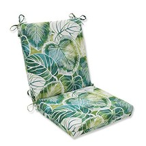 Pillow Perfect Outdoor/Indoor Key Cove Lagoon Squared Corners Chair Cushion - £21.97 GBP