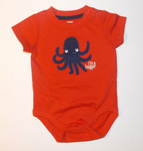 Gymboree Baby Infant Boys Bodysuit Octopus I'm A Hugger Size 0-3M NWOT - $8.19