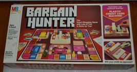 Bargain Hunter Board Game Milton Bradley Shopping Store 80s Vintage - $28.04
