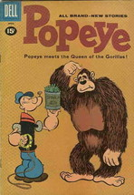 Popeye #58 VG; Charlton | low grade comic - save on shipping - details inside - $9.25