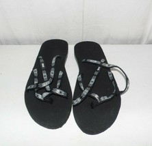 9ce2b049c43 Teva Olowahu Black White Gray Strappy Sandals Size 8 NWOT - £18.86 GBP