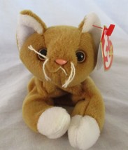 Ty Beanie Baby Nip The Cat 4th Generation Hang Tag PVC Filled - $39.59