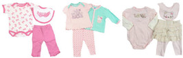 Infant Girl's 3-Piece Outfit Sets Bon Bebe, Baby Headquarters, Mon Cheri CUTE!