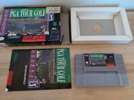 Super Nintendo SNES PGA Golf Tour ~ COMPLETE image 2