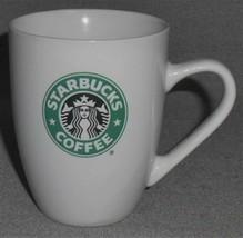 2007 12.4 oz Starbucks GREEN/BLACK MERMAID LOGO Coffee Mug - $14.84