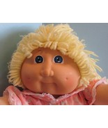 """Cabbage Patch Kids 16"""", Xavier Roberts baby doll yellow  hair blue eyes '85 - $22.28"""
