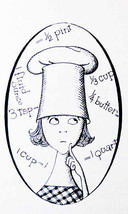 1960 I Hate to Cook Book Written by Peg Bracken Illustrated by Hilary Kn... - $16.90