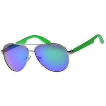 MLC EYEWEAR  Classic Dual Tone Aviator Sunglasses UV400/Green/medium - $9.96