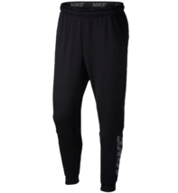 NIKE Training Dri-Fit Fleece Lightweight Tapered Pants sz Extra Large Black - $39.99