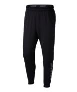 NIKE Training Dri-Fit Fleece Lightweight Tapered Pants sz Extra Large Black - $39.99