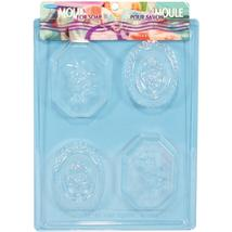"Life Of The Party Soap Mold 4 Cavity - Oval Roses  7.75""X10.25"" - $3.49"