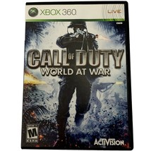Call of Duty: World at War (Microsoft Xbox 360/One) Missing Manuals! - $15.95