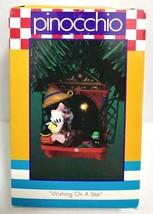 Enesco Pinocchio Wishing On A Star Christmas Ornament - $25.00