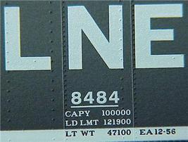 Micro Trains 120030 LNE 40' Boxcar 8484 - $20.25