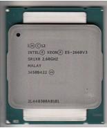 INTEL XEON E5-2660 V3 SR1XR 2.6GHZ+ 25MB L3 10-CORE LGA2011-3 (CPU ONLY)... - $185.98