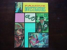 FAMOUS INVESTIGATORS Richard Deming 1963 unread condition hc mystery det... - $10.00