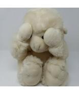 1992 White Gorilla Peek A Boo Monkey Plush Commonwealth Magnets Vintage - $37.18
