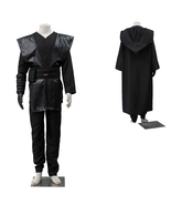 Star Wars Anakin Skywalker Cosplay Costume Black Outfit Full Set - $105.16