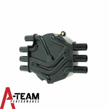 Distributor Cap Crab Style Compatible with Chevy Chevrolet GM Vortec V-6 Black