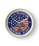 USAF F-4 Phantom Heritage Flight Wall Clock NEW!!! - $69.29