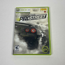 Need for Speed: ProStreet (Microsoft Xbox 360, 2007) XBOX360 CIB Complet... - $8.09
