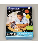 Discovery 7 In 1 Space Fleet Model Kit Solar Powered No Tools Needed Age... - $7.87