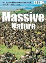 Massive Nature DVD BBC Documentary Animal NEW  - $17.97