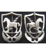 10th Special Forces 1950's beret badge Sterling Silver      - $70.00