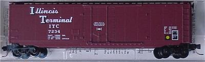 Micro Trains Kadee 32270 IT 50' Boxcar 7234
