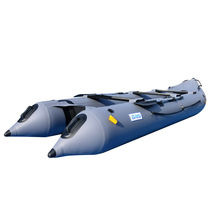 BRIS 14.1ft Inflatable Kayka Canoe Boat Fishing Tender Poonton Boat image 3
