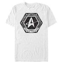 Star Trek DS9 Mission Certified Mens Graphic T Shirt - $10.99
