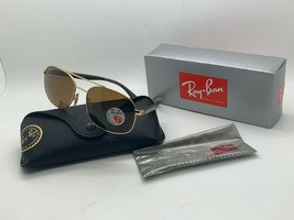 Ray-Ban RB3593 Sunglasses 001/83 Gold  Frame Polarized 58mm - $106.67