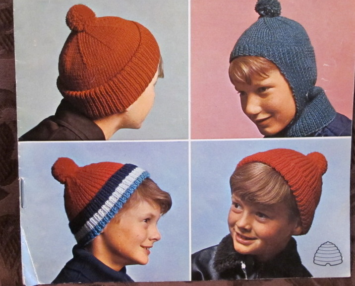 6 Vintage Knitting Patterns Childrens Boys And 50 Similar Items