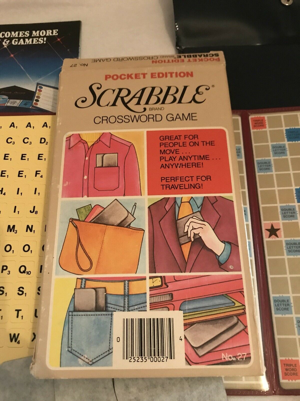 Scrabble 1977 Game Instruction Manual Replacement Selchow /& Righter